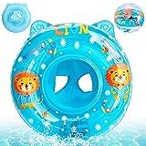 Baby Schwimmring,Blau Baby Float schwimmreifen,Baby schwimmring mit schwimmsitz,Aufblasbarer...