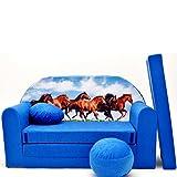 Kindersofa Kinder Sofa Couch Baby Schlafsofa Kinderzimmer Bett gemütlich verschidene Farben und...