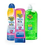 Banana Boat - Baby Pack - Baby Sonnencreme LSF 50 180ml + Baby Sonnenspray LSF 50 220ml + Aloe After Sun Lotion 473 ml