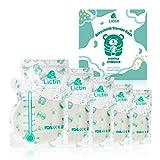 Lictin 60 Stück Muttermilchbeutel, Muttermilch Aufbewahrung Milch Aufbewahrung Bag mit Ausguss &...