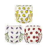 DEMU 4er Pack Baby Windelhose Windeln Trainerhosen Wiederverwendbar Wasserdicht Lernwindel T/öpfchen