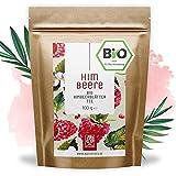 Himbeerblättertee Bio I 100 Gramm I 100% BIO, natürlich und vegan I Himbeerblätter Tee...