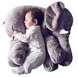 Baby Kissen,Lagerungskissen,Stillkissen,Baby Elefant Kissen Kuscheltier Spielzeug Kinderbett Kissen...