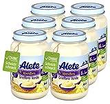 Alete Bio Gläschen Abendbrei Grießbrei Vanille, Babynahrung in Bio-Qualität, ohne Palmöl &...