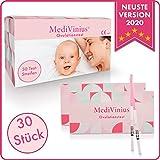 MediVinius Ovulationstest 30 Streifen - Fruchtbarkeitstest für Frauen - Teststäbchen für...