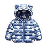 Minizone Baby Puffer Jacke mit Kapuze Jungen Mädchen Leichter Schneeanzug Kinder Herbst Winter...
