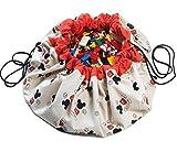 PlayGo Play&Go_5425038799828 Play & Go Disney X Aufbewahrungstasche Mickey Cool, Durchmesser 140 cm, Mehrfarbig, One Size