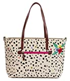 pink lining Notting Hill Tote Dalmatian Fever