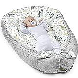 warmes Nestchen Baby - Kuschelnest Neugeborene Baby Nestchen Bett Winter/Herbst Kokon Babynest (Grau...