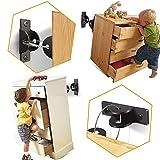 [6 Stück] SYOSIN Baby Möbel Kippsicherung für Regale Kommoden und Schränke, Kindersicherheit...