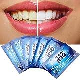 LifeBest 50 Stück Einweg-Wischtuch Oral Brush Up Finger für Tiefenreinigungstücher Zahnzahn Mundpflege Zahnreinigung Zahnaufhellungstücher Einweg-Fingerzahnbürste