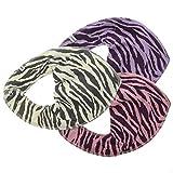 Pippi 3er Pack Baby Mädchen Halstuch mit Aufdruck, Farbe: Rosa und Beige, One Size, 3967