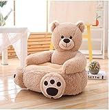 RKZM Schöne Cartoon Kinder Sofa Stuhl Spielzeug Sitz Baby Nest Schlafsofa Erwachsene Kissen Kissen Gefüllte Nette Teddybär Puppe 50 * 50 * 45 cm