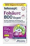 tetesept Folsäure 800 Depot – Nahrungsergänzungsmittel mit Depot-Technologie - inklusive aller...