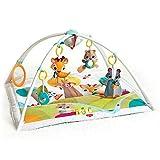 Tiny Love Baby Spieldecke Gymini Deluxe Into The Forest, Krabbeldecke mit verstellbaren Spielbögen, nutzbar ab der Geburt (0M+), 88 x 78 cm, mehrfarbig