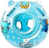 a ray of sunshine Schwimmring Baby Schwimmsitz Baby Schwimmhilfe mit Schwimmsitz PVC für Kleinkind Schwimmhilfe Spielzeug 6 Monate bis 36 Monate (Blau)