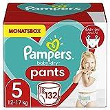 Pampers Größe 5 Baby Dry Windeln Pants, 132 Stück, MONATSBOX, Für Atmungsaktive Trockenheit...