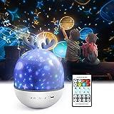 Sternenhimmel Projektor Lampe Kinder ,Petrichor LED Musik Nachtlicht Lampe Schlummerleuchten...