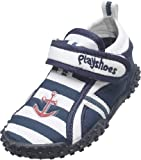 Playshoes Unisex Kinder Aqua-Schuhe Maritim, Blau (original 900), 18/19 EU