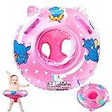 StillCool Baby Schwimmring Verstellbare Aufblasbare aufblasbare Schwimmen Float Kinder Schwimmring Schwimmtrainer für Kinder 6 Monate bis 36 Monate (Rosa)
