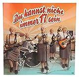 Depesche 3868.010 Glückwunschkarte mit Musik, Geburtstag, Mehrfarbig