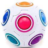 CUBIDI® Original Regenbogenball - Geschicklichkeitsspiel - Spannendes Knobelspiel für Kinder und...