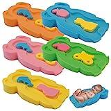 Baby Badeschwamm Sitzschwamm Badeunterlage Für Babys ab der Geburt Gr.MIDI (Grün)
