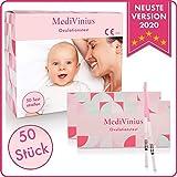 MediVinius Ovulationstest im 15er, 30er oder 50er Set - Premium Fruchtbarkeitstest für Frauen mit...