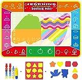 hsj Wasser-Leinwand 120 * 90 Kinder Magische Magic Water Leinwand Schreiben Decke Baby-Wasser...
