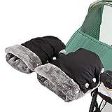 Kinderwagen Handwärmer, Yesloo Kinderwagen Handschuhe mit Fleece Innenseite,Kinderwagenmuff...