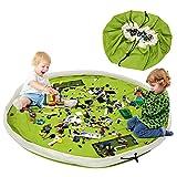 BELLESTYLE Kinderspielzeug-Aufbewahrungsbeutel, Baumwoll-Segeltuch-bewegliches großes einfaches...