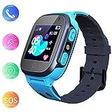 Smooce Kinder Smartwatch LBS Tracker,Touch LCD Kid Smart Watch mit Taschenlampen Anti-Lost Voice...