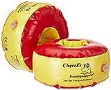 Cherek´s KraulQuappen 17cm für Fortgeschrittene rot/gelb Schwimmflügel Schwimmhilfe für Kinder, TÜV zertifiziert