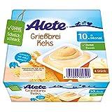 Alete Dessert Griessbrei Keks, ungekühlt haltbar, ohne künstliche Aromastoffe & Palmöl, ab dem 10. Monat, 400 g