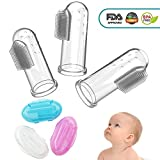 CalMyotis Baby Zahnbürste, Fingerzahnbürste baby, Zahnpflege, Kindermundpflege und...