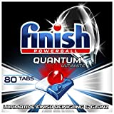 Finish Quantum Ultimate Spülmaschinentabs – Phosphatfreie Geschirrspültabs mit 3-fach Wirkung...