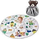 Winthome Spieldecke Baby, Multifunktional Rutschfest Spielteppich, Krabbeldecke Spielmatte -...