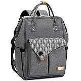 Baby Wickelrucksack Wickeltasche mit Wickelunterlage Multifunktional Große Kapazität Babytasche...