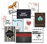 30 Premium Geburtstagskarten und Umschläge - inklusive E-Paper mit den schönsten...