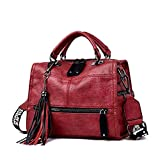 Leder Quaste Luxus Handtasche Frauen Taschen Designer Handtaschen Hochwertige Damen Handtaschen Für Frauen