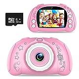 WOWGO Kinder Kamera, Digital Fotokamera Selfie Fotoapparat USB Wiederaufladbarer Videokamera mit 2.4...