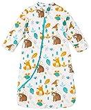 Chilsuessy Baby Schlafsack Winter, Abnehmbare Ärmel, warm gefüttert 3.5 Tog Winter Schlafsäcke...