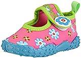 Playshoes Badeschuhe Blumen mit höchstem UV-Schutz nach Standard 801 174759, Mädchen Aqua Schuhe,...