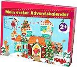 HABA 304904 Mein erster Adventskalender Prinzessinenschloss, für Kinder ab 2 Jahren