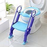 BAMNY Töpfchentrainer Toiletten-Trainer Kinder Töpfchen Kinder-Toilettensitz mit Leiter Töpfchen...