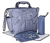 okiedog SUMO 37011 flexible Wickeltasche mit Henkel, Schultergurt, Rucksack, Kinderwagenhaken,...