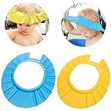 Baby Shampoo Mütze -WENTS EVA Weiche Einstellbar Shampoo Badewanne Dusche Mütze Augenschutz Dusche Badeschutz