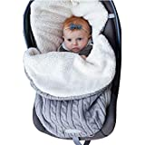 Wickeldecke Baby Kinderwagen Wickeldecke Fleece Schlafsack Plus Samt