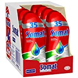 Somat Power Gel, Geschirrspülmittel für die Spülmaschine, gegen Fett & Eingebranntes, für Kurzprogramme geeignet (8 x 700 ml)