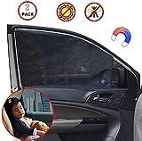 Sonnenschutz fürs Auto Vorhang, Sonnenschutz Magnetisch für UV, Universelle Auto Sonnenblende für...